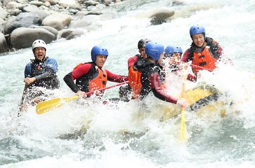 White river rafting safari