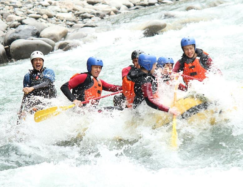White river rafting kurt safari